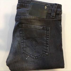 R13 size 25 paint splattered skinny jeans *READ*